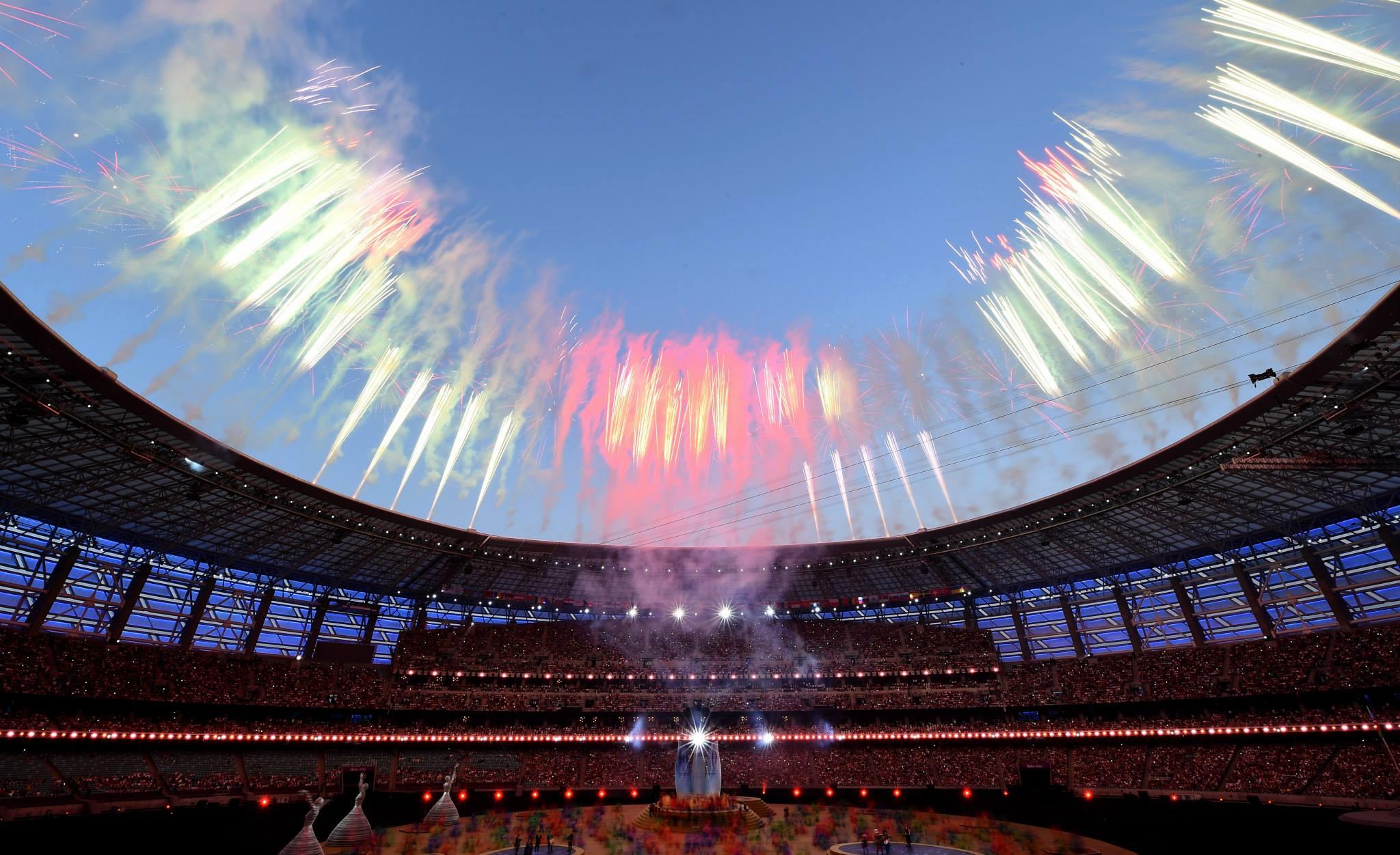 Baku 2015 Closing Ceremony