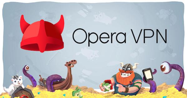 Opera ilə pulsuz VPN